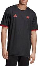 adidas Tan Reversible Jersey DT9834, Mannen, Zwart, T-shirt maat: S EU