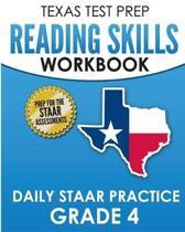 Texas Test Prep Reading Skills Workbook Daily Staar Practice Grade 4