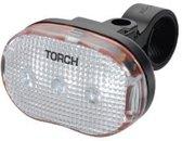 Torch Voorlicht White Bright 3 Led Batterij Wit
