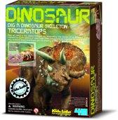 4M Graaf je Dinosaurus op - Triceratops