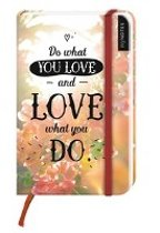 myNotes: Do What You Love and Love What You Do / Notizbuch klein / blanko