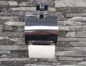 Chroom design wc rolhouder, toiletrolhouder
