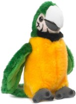 Wwf Knuffel Papegaai Met Geluid 14 Cm Geel/groen
