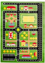 Vloerkleed_Brulo_A646A Groen 1,40*1,90 KINDER CFV_10 mm_2150 gr M²