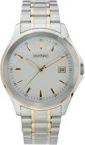 Olympic OL26HSS242B Horloge - Staal - Bicolor - 40 mm