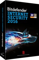 Bitdefender Internet Security 2016 - 1 jaar, 1 computer