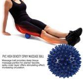 Triggerpoint Zelfmassage Bal - Acupunctuur / Lacrossebal / Fasciaball - Blauw (8cm)
