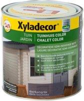Xyladecor Tuinhuis Color - Houtbeits - Berkengrijs - Mat - 2,5L