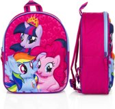 My Little Pony Cutie Power 3D Kinderrugzak Unisex - Roze - 1-vaks