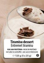 W8CONTROL High Protein Tiramisu dessert (5 x 25g) F1
