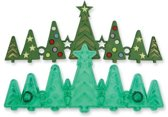 JEM Uitsteker Kerst  - Bomenrij - 26,8 x 7 cm