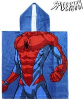 Poncho-Handdoek met Capuchon Spiderman 74188
