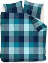 Beddinghouse Clarck - Dekbedovertrek - Lits-jumeaux - 240x200/220 cm - Blauw Groen