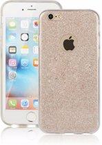 Apple iPhone 6s / 6 glitters hoesje - Goud BlingBling