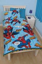Spider-Man Thwip - Dekbedovertrek - Eenpersoons - 135 x 200 cm - Blauw