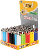 BIC Mini Standard aanstekers Display (50 stuks)