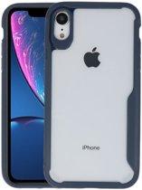Focus Transparant Hard Cases voor iPhone XR Navy