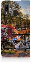 Samsung Galaxy A30 Book Cover Amsterdamse Grachten