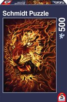 Fire Tiger 500 pcs Puzzels