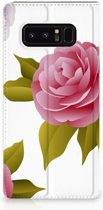 Samsung Galaxy Note 8 Uniek Standcase Hoesje Roses