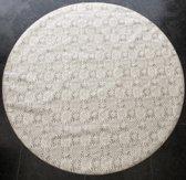 Palace Fashion Tafelzeil - Rond 160 cm - Kant - Creme