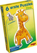 6 eerste puzzels De zoo