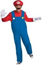 Mario� Deluxe outfit voor volwassenen - Verkleedkleding - Large
