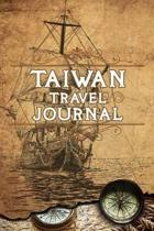 Taiwan Travel Journal: Notebook 120 Pages 6x9 Inches - Vacation Trip Planner Travel Diary Farewell Gift Holiday Planner