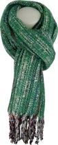 Sjaal Qischa groen