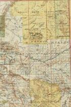 1897 Map of Arizona - a Poetose Notebook / Journal / Diary (50 Pages/25 Sheets)