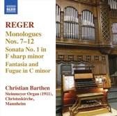Christian Barthen - Reger; Organ Works