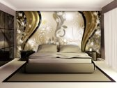 Goud Photomural, wallcovering
