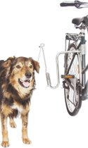 Flamingo fietsbeugel Doggy sprinter - zilver