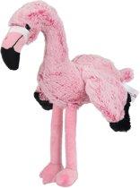 Nicotoy Flamingo - Knuffel - 23 cm -