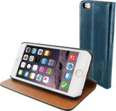 Mobiparts Luxury Book Case Apple iPhone 6/6S Royal Blue
