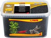 Sera siergrind - zwart - 6L - Aquariumgrind bodemgrind vervuilt niet