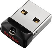 Sandisk Cruzer Fit | 64 GB USB | Type 2.0A - USB Stick