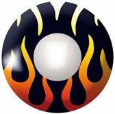 Vlammen partylenzen | kleurenlenzen / jaar feest lenzen | kleurenlenzen