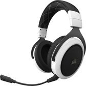 Corsair HS70 Surround - Draadloze Gaming Headset - Wit - PC + PS4
