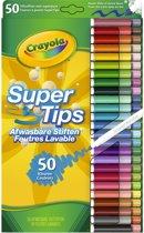Crayola 50 Supertips - Viltstiften met superpunt