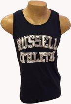 Russell Singlet Groot logo navy/wit