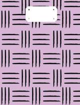Purple Tribal Composition Notebook