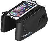 Cross Fietsframe Tas - Grote Dubbele Afneembare Frametas - Met Frame Smartphone / iPhone / Samsung Mobiele Telefoon Houder Afneembaar - Waterdicht