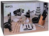 80-Delige keuken starter set