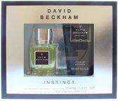 David Beckham Instinct - Geschenkset - Eau de toilette 30 ml  + Douchegel 150 ml
