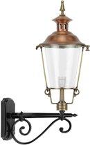 Manves - Bronzen  Wandlamp buiten rond Barlaque - 80 cm