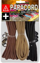 Paracord Set - Special Collection (Bruin / Licht-Bruin / Zwart)