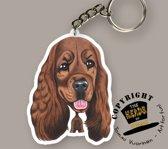 Sleutelhanger Hond Cocker Spaniel