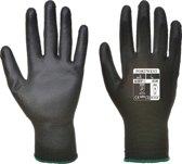 Palm handschoen PU Zwart - Maat XS (5 paar)