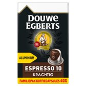 Douwe Egberts Espresso Krachtig Koffiecups - 4 x 40 cups - voordeelpak - 160 koffiecups
